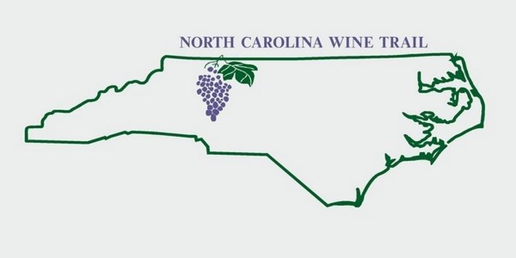 North Carolina State Outline Map North Carolina State Wine